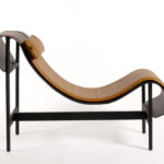 Charlotte chaise longue by Christophe de la Fontaine