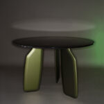 Dante - Goods and Bads Bavaresk round table by Christophe de la Fontaine