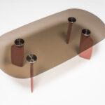 Dante - Goods and Bads Bavaresk oval table by Christophe de la Fontaine