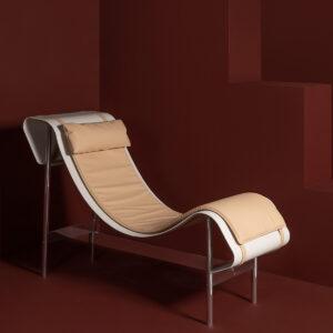 Dante - Goods and Bads Charlotte chaise longue by Christophe de la Fontaine