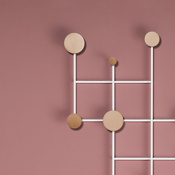 Memoir coat rack designed by Jakub Zak for Dante - Goods and Bads