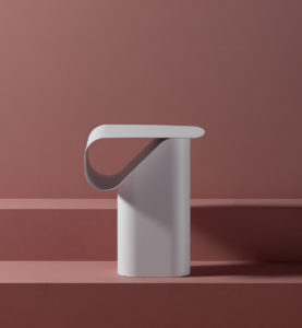 Dante - Goods and Bads Revue side table by Andrea Steidl white