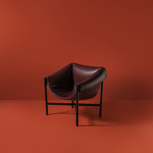 Falstaff armchair designed by Stefan Diez for Dante - Goods and Bads
