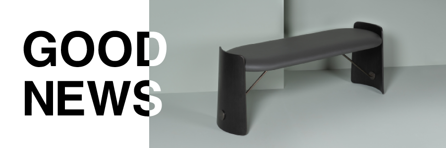 Biscotto bench designed by Christophe de la Fontaine for Dante - Goods and Bads