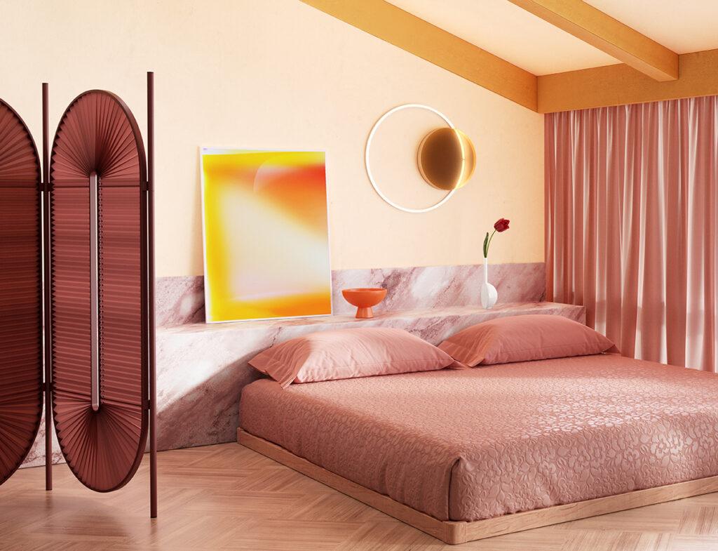 Minima Moralia room divider by Christophe de la Fontaine, Juliette Wanty for Absolut Art