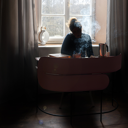 Dante - Goods and Bads Myself & I desk by Garth Roberts