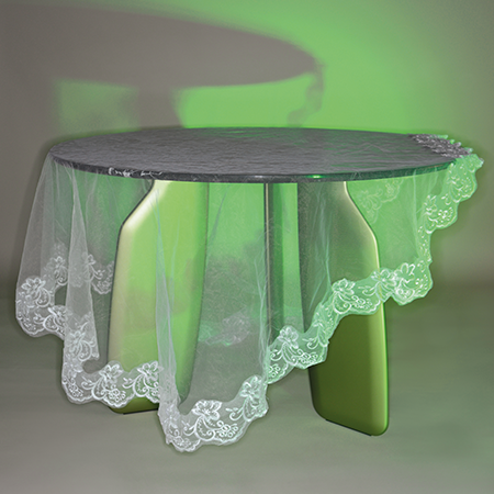 Dante - Goods and Bads Bavaresk oval table by Christophe de la Fontaine