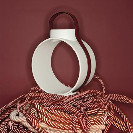 Dante - Goods and Bads Nightingale porcelain lantern by Christophe de la Fontaine