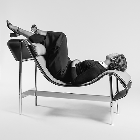 Dante - Goods and Bads Charlotte chaise longue by Christophe de la Fontaine