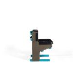 Bold chair by Christophe de la Fontaine DANTE - Goods and Bads