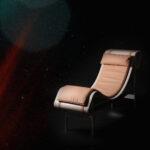 Charlotte chaise longue by Christophe de la Fontaine