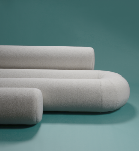 Serpentine sofa by Christophe de la Fontaine DANTE - Goods and Bads