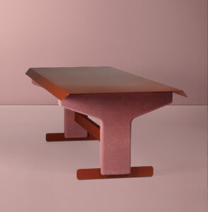 Bold's table by Christophe de la Fontaine DANTE - Goods and Bads